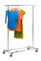 Deals List: Honey-Can-Do GAR-01304 Collapsible Commercial Garment Rack with Wheels, Chrome