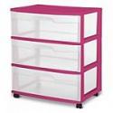 Deals List: Sterilite 3 Drawer Wide Cart