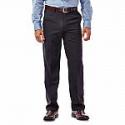 Deals List: Haggar Men's Performance Microfiber Flat Front Pant