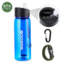 Deals List: SGODDE 22.2oz Water Purification Bottle with 2-Stage Filter Straw