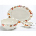Deals List: Mainstays 3-Piece Leaf Pumpkin Serve Set