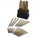 Deals List: 63-Piece Ironton Titanium-Coated Drill Bit Set (3106S037)