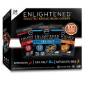 Deals List: Enlightened Plant Protein Gluten Free Roasted Broad (Fava) Bean Snack, Variety Pack, 1.0 oz, 24 Count