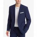 Deals List: Michael Kors Classic-Fit Blue & Gray Plaid Men's Sport Coat (Blue)