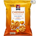Deals List: Quaker Rice Crisps, Cheddar Cheese, 6.06 oz Bags, 6 Count