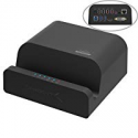 Deals List: Sabrent 60 Watt (12 Amp) 10-Port [UL Certified] Family-Sized Desktop USB Rapid Charger. Smart USB Ports with Auto Detect Technology [Black] (AX-TPCS)