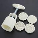 Deals List: KINGSO Mid-Autumn Mooncake Mould DIY Cake Decoration Tool