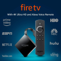 Deals List: Fire TV with 4K Ultra HD and Alexa Voice Remote (Pendant Design) | Streaming Media Player
