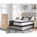 Deals List: Ashley Furniture Signature Design - 12 Inch Chime Express Hybrid Innerspring Mattress - Bed in a Box - Queen - White