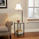 Deals List: Mainstays Transitional Glass End Table Lamp
