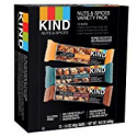 Deals List: 12-Count KIND Bars Nuts and Spices Variety Pack Gluten 1.4 Oz.