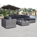 Deals List: Costway 6pc Patio Sofa Furniture Set