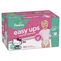 Deals List: Pampers Easy Ups Training Pants Pull On Disposable Diapers, 124 Count