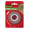 Deals List: 3M Scotch 4011 Exterior Mounting Tape, 1 in x 60 in
