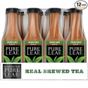 Deals List: Pure Leaf Iced Tea, Unsweetened, Real Brewed Black Tea, 0 Calories, 18.5 Ounce (Pack of 12)