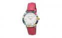Deals List: Laura Ashley Ladies Band Floral Bezel Watch