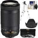 Deals List: Nikon 70-300mm f/4.5-6.3G DX AF-P ED Lens Kit Refurb