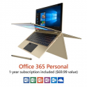 "Deals List: Direkt-Tek 11.6"" Convertible Touchscreen Laptop, Windows 10, Office 365 Personal 1-Year Subscription Included ($69.99 Value), Windows Hello (Fingerprint Reader), Windows Ink (Smart Stylus included)"