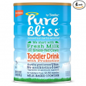 Deals List: Pure Bliss by Similac Toddler Drink with Probiotics, Starts with Fresh Milk from Grass-Fed Cows, One Month Supply, 31.8 ounces (Pack of 4)