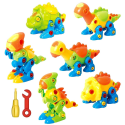 Deals List: Dinosaur Toys Take Apart Toys With Tools - Pack of 6 Dinosaurs - Construction Engineering STEM Learning Toy Building Play Set - Toy for Boys & Girls Age 3 - 12 years old