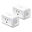 Deals List: Kasa Smart Plug Lite by TP-Link, Smart Home Wifi Outlet Works with Alexa Echo & Google Home - 12 Amp & Reliable Wifi Connection, Compact Design, No Hub Required, 2-pack (HS103P2)