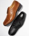 Deals List: Alfani Adam Cap Toe Men's Oxford Shoes (Black or Tan)