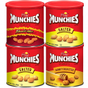 Deals List: Munchies Peanuts 3 Flavor Variety Pack, 16 Ounce (4 Canisters)