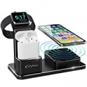 Deals List: YoFeW Charging Stand 10W Fast Wireless Charger Pad Stand