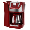 Deals List: BLACK+DECKER Mill & Brew 12-Cup Programmable Coffeemaker with Built-In Grinder, Red, CM5000RD