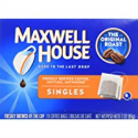 Deals List: 4 Pack Maxwell House Original Roast Ground Coffee