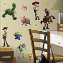 Deals List: RoomMates RMK1428SCS Toy Story Peel & Stick Wall Decals Glo-in Dark, 34 Count