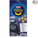 Deals List: Kraft Macaroni and Cheese Dinner, Original Flavor, Star Wars Shapes, 5.5 Ounce Box (Pack of 12 Boxes)