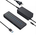 Deals List: AUKEY 10-Port Powered USB Hub 3 Charging 7 USB Ports