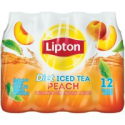 Deals List: Lipton Diet Iced Tea, Peach, 16.9 Fl Oz, 12 Count
