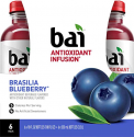 Deals List: Bai Flavored Water, Brasilia Blueberry, Antioxidant Infused Drinks, 18 Fluid Ounce Bottles, 6 count