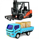 Deals List: Click N' Play Forklift & Truck Play Set Vehicle