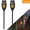 Deals List: 2 Pack Kazoku Solar Torch Lights 99 LED Light