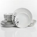 Deals List: The Big One Florally 12-piece Dinnerware Set