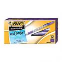 Deals List: 12-PK BIC Round Stic Grip Xtra-Comfort 1.2 mm Point Ballpoint Pens