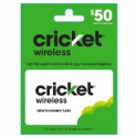 Deals List: $50 Cricket Wireless Service Payment Card (Email Delivery)