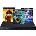 Deals List: LG 4K Blu-ray Player + 3 Blu-ray + Logitech Harmony Remote