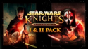 Deals List: Star Wars: Knights of the Old Republic I & II Pack for PC