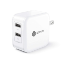 Deals List: iClever BoostCube 4.8A 24W Dual USB Travel Wall Charger with SmartID Technology, Foldable Plug AC Adapter for iPhone X /8/7 /7 Plus/ 6S/ 6 Plus, iPad Pro Air/Mini and Other Tablet