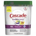 Deals List: Cascade Platinum Plus Dishwasher Detergent Actionpacs, Lemon, 70 Count