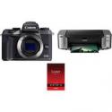 Deals List: Canon EOS M6 Mirrorless Digital Camera Body with Inkjet Printer Kit