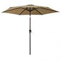 Deals List: FLAME&SHADE 9ft Patio Outdoor Umbrella Market Parasol