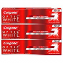 Deals List: Colgate Optic White Whitening Toothpaste, Sparkling Mint, 5 Ounce, 3 Count