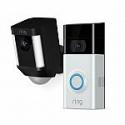 Deals List: Ring Wireless Video Doorbell 2 with Spotlight Cam Battery Black