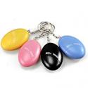 Deals List: Egg Shape Self Defense Alarm 120dB Alert Keychain