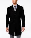 Deals List: Kenneth Cole Reaction Raburn Wool-Blend Men's Overcoat (multiple colors)